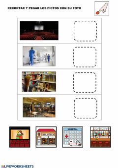 Interactive worksheet Unid picto con foto