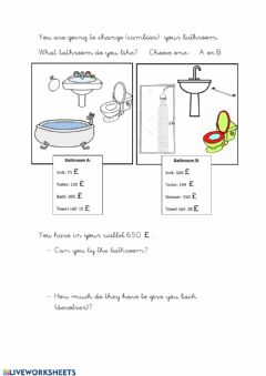 Interactive worksheet Addition  & Substraction word problem
