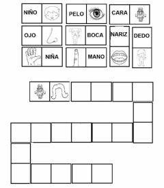 Interactive worksheet Domino cuerpo