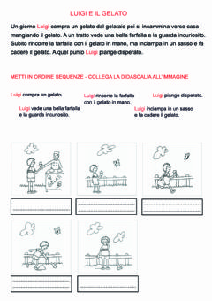 Interactive worksheet Collega le didascalie alle immagini
