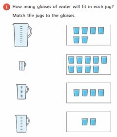 Interactive worksheet Maths-capacity