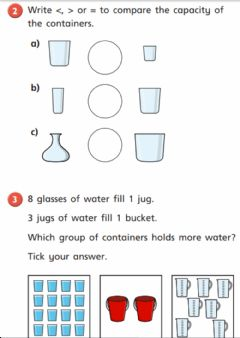 Interactive worksheet Capacity