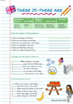 Interactive worksheet There is- There are