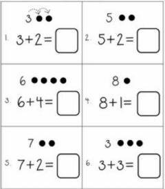 Interactive worksheet Counting on from a number