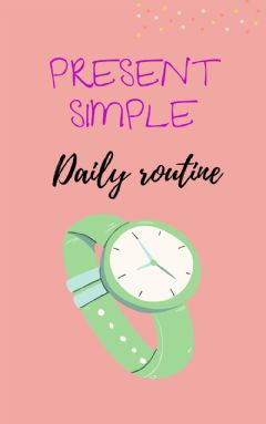 Ficha interactiva Present simple, daily routines