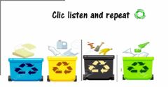 Interactive worksheet Colour of the bins