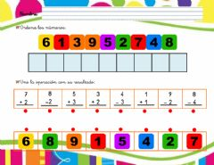 Interactive worksheet Números del 1 al 9-02