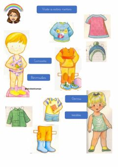 Interactive worksheet Ropa 3