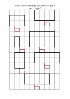 Interactive worksheet Squares and Rectangles