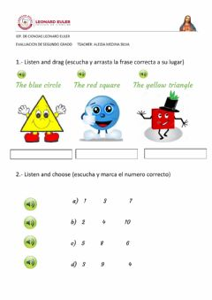 Interactive worksheet Exam segundo