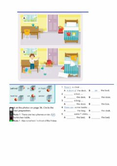 Interactive worksheet Prepositions of place Go Getter1