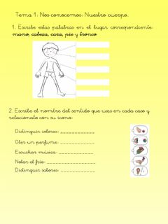 Interactive worksheet Repaso tema 1 cc naturales