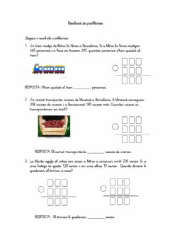 Interactive worksheet Resolució de problemes
