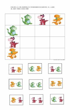 Interactive worksheet Tabla doble entrada