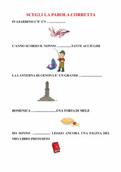 Interactive worksheet L'accento
