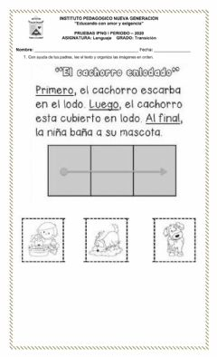 Interactive worksheet Las vocales