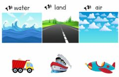 Interactive worksheet Classifying means of transport