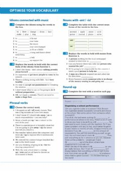 Interactive worksheet Revision: Vocabulary on music (idioms, phrasal verbs, and suffixes)