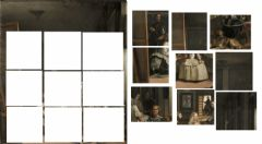 Interactive worksheet Velázquez Puzzle