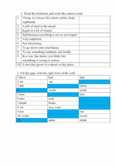 Interactive worksheet The lost city