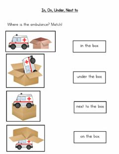 Interactive worksheet Where is the ambulance?