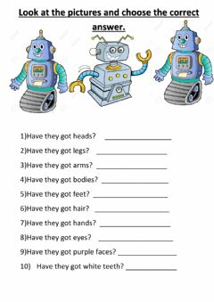 Interactive worksheet Have they got...?