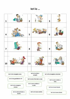 Interactive worksheet Ieri io...