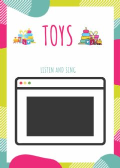 Interactive worksheet The toys