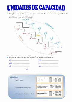 Interactive worksheet Escalera de capacidad