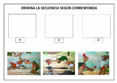 Interactive worksheet Secuencia temporal