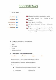 Interactive worksheet Control de natura