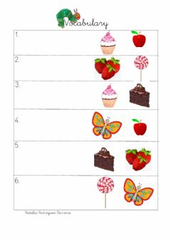 Interactive worksheet Food infantil