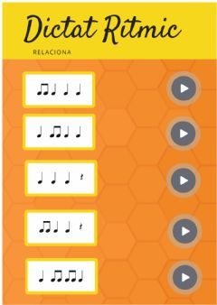Interactive worksheet DICTAT MELODIC 2