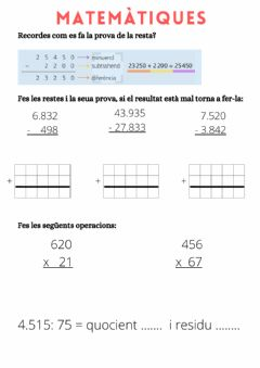 Interactive worksheet Prova resta