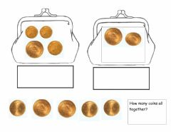 Interactive worksheet UAE COINS- How many?
