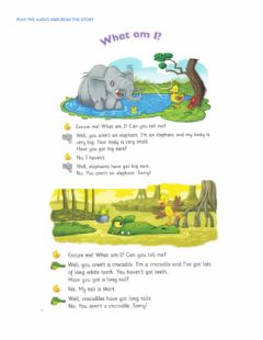 Interactive worksheet What am I? Reading comprehension