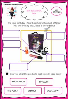 Interactive worksheet Make-up
