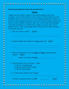 Interactive worksheet Comprehension