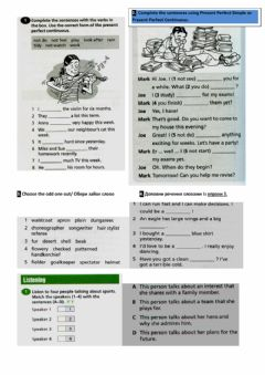 Interactive worksheet Present Perfect Simple-Continuous