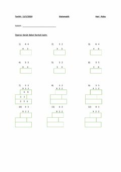 Interactive worksheet Matematik