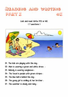 Interactive worksheet Reading and writing 2-02