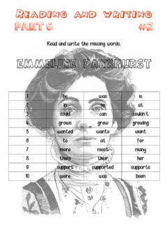 Interactive worksheet Reading and writing 6-02