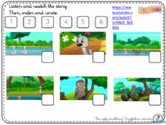 Interactive worksheet The ugly Duckling