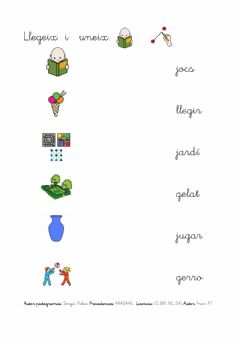 Interactive worksheet Valenciano: G-J
