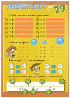 Interactive worksheet NUMERACIÓ 79