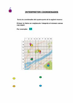 Interactive worksheet Plànol