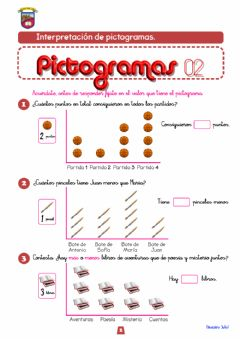 Interactive worksheet Pictogramas 2º Primaria-02