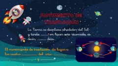 Interactive worksheet Movimientos de la Tierra