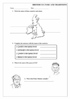 Interactive worksheet British Culture and traditions 2