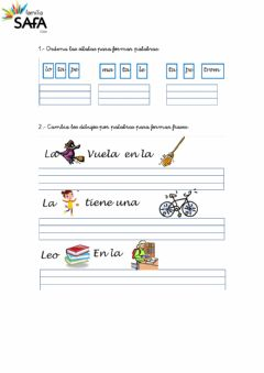 Interactive worksheet Castelllano REFUERZO 10.2